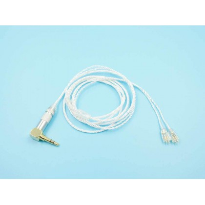 2-Pin 0.75mm 8 Core Earphone Upgrade Cable
