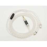MMCX Silver-Plated Replacement Cable