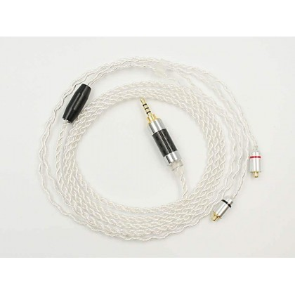 MMCX Silver-Plated Replacement Cable - MMCX