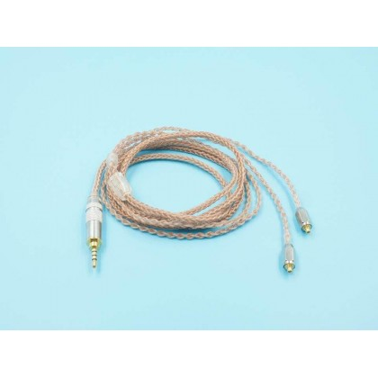 MMCX Single Crystal Copper Upgrade Cable - 8 cores
