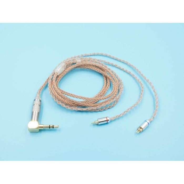 2-Pin 0.78mm Single Crystal Copper Upgrade Cable