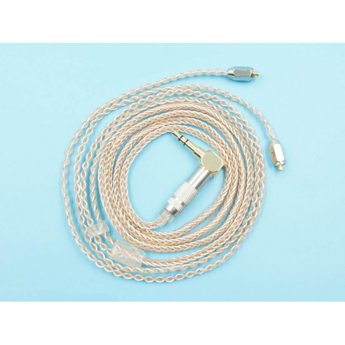 MMCX Copper Mixed Silver-plated Upgrade Cable