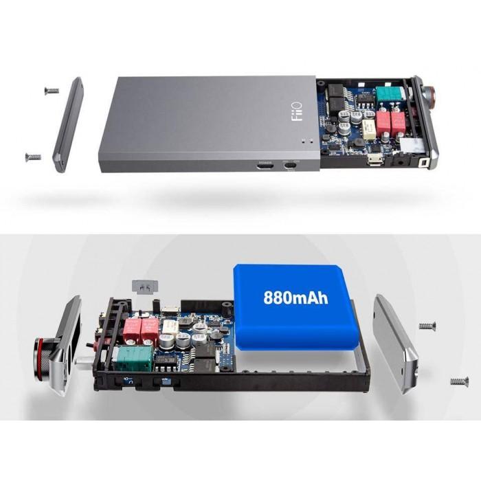 FiiO A5 MUSESO2+LME49600 Highly Effective Powerful Portable Headphone Amplifier
