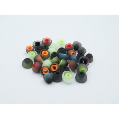 3 Pairs In-ear Silicone Eartips - S/M/L