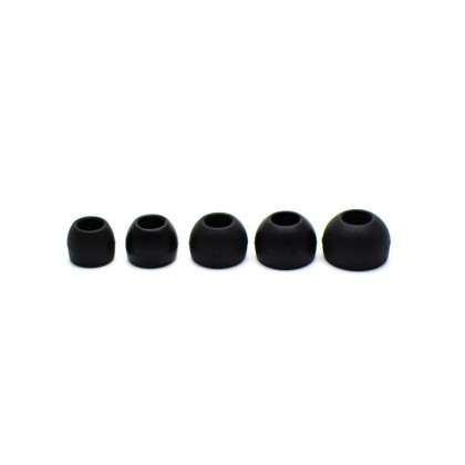 JVC Spiral Dot Silicone Eartips - EP-FX9M-B
