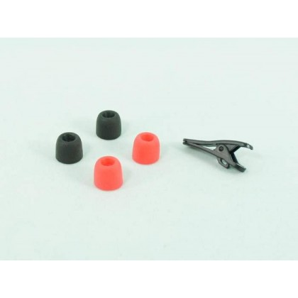 Soft  Foam Eartips (2 Pairs) - 2 Pairs