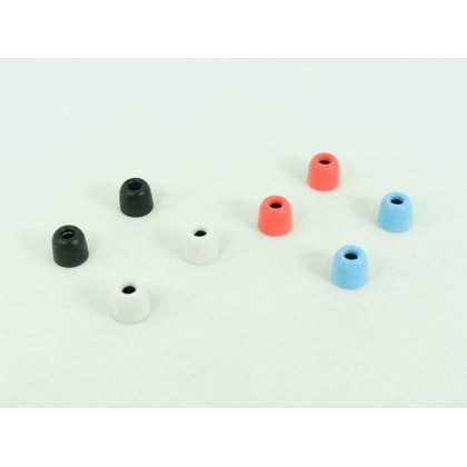Soft Foam Eartips (4 Pairs) - 4 Pairs