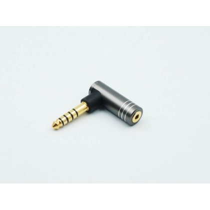2.5mm Female to 4.4mm Male Balanced Adapter (L-Shaped)