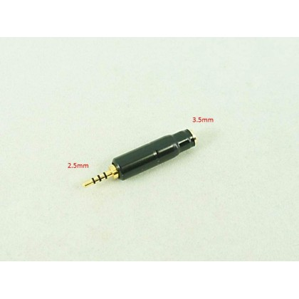 3.5mm Female to 2.5mm Male Balanced Adapter