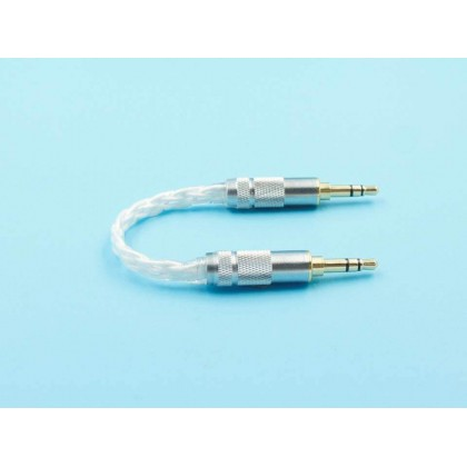 3.5mm to 3.5mm Silver-Plated Audio Cable