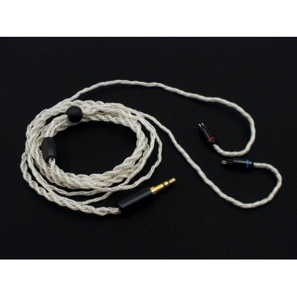 6 Strands 19 Cores Silver-Plated IEM Cable - 6 Strands 19 Core