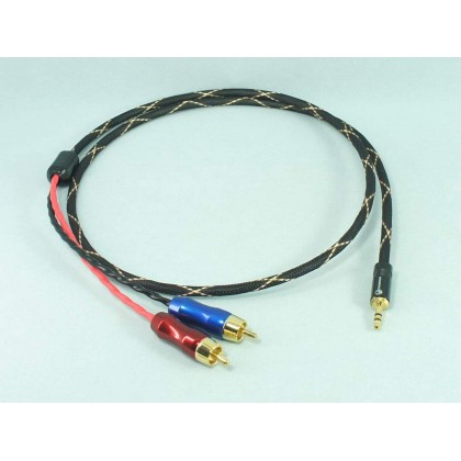 3.5mm Stereo to Dual RCA Signal Cable
