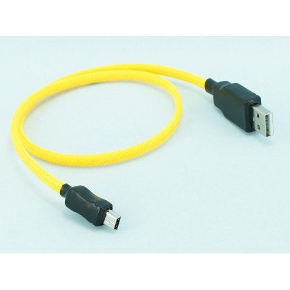 1.5 FT Nylon USB 2.0 to Micro USB A-B Cable
