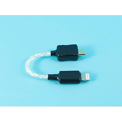 Lightning to Micro USB Pure Silver Cable  For COZOY/Shozy - Only For COZOY/SHOZY
